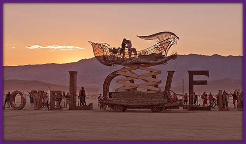 Burning Man Radical Self-Expression