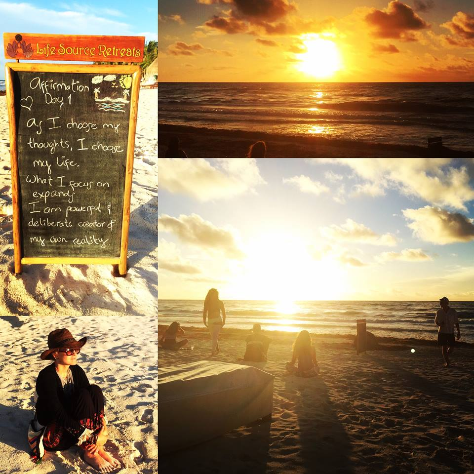 Dec 2015: Life Source Retreats Release Their 2016 Calendar of Luxury Yoga, Wellness & Spiritual Retreats in Tulum, Mexico