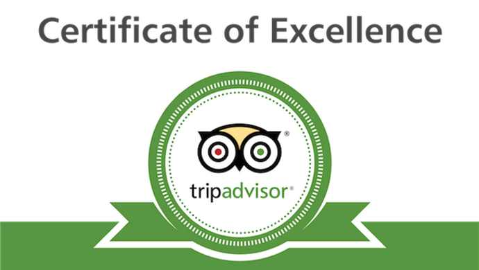 Trip Advisor Award Of Excellence Life Source Retreats